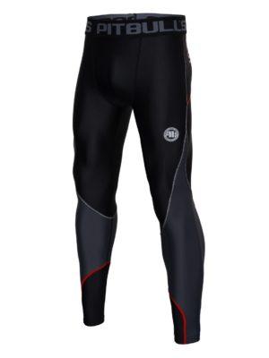 Компрессионные штаны Pro plus (BLACK/RED)
