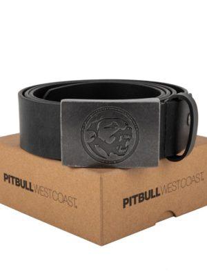 Ремень PITBULL lether belt bones