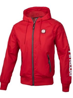 ветровка Athletic SLV RED /WHITE