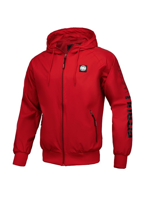 ветровка Athletic SLV RED