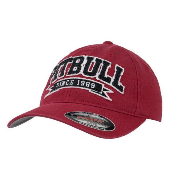 Кепка pitbull red (закрытая)